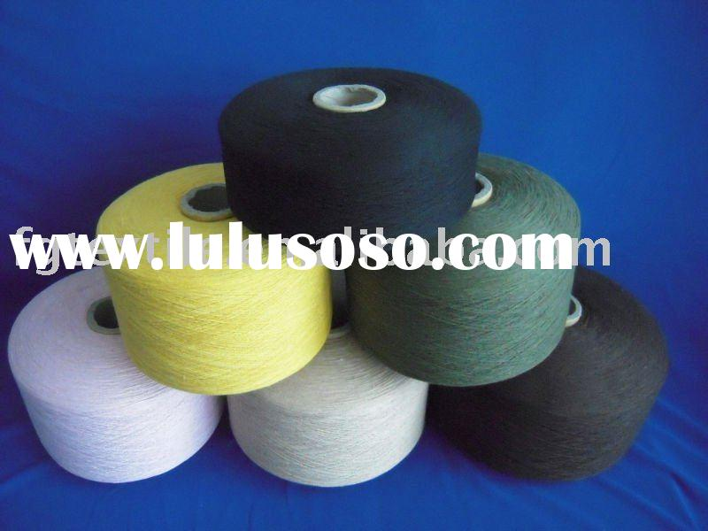 recycled cotton polyester OE yarn for carpet