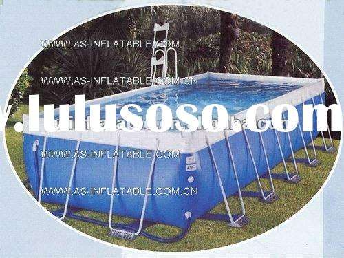 top best quality above ground steel swimming pool product