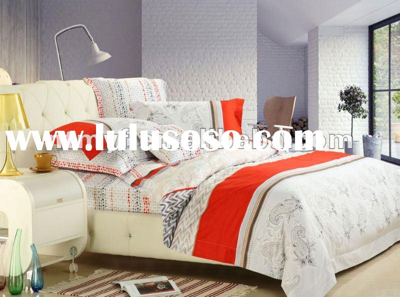 100% cotton and printed bedding set