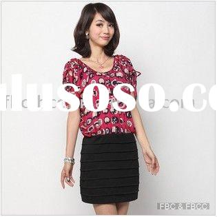 2011 latest design summer lady casual dress(911)