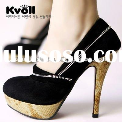 2012 Hot selling fashion ladies shoes