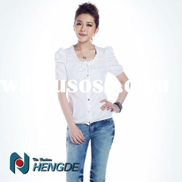 2012 new fashion ladies office wear tops for summer OWS05