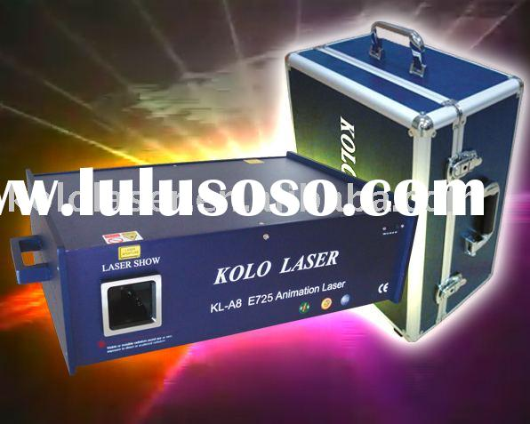 380mW RGB multi color laser light, disco light for DJ Pro