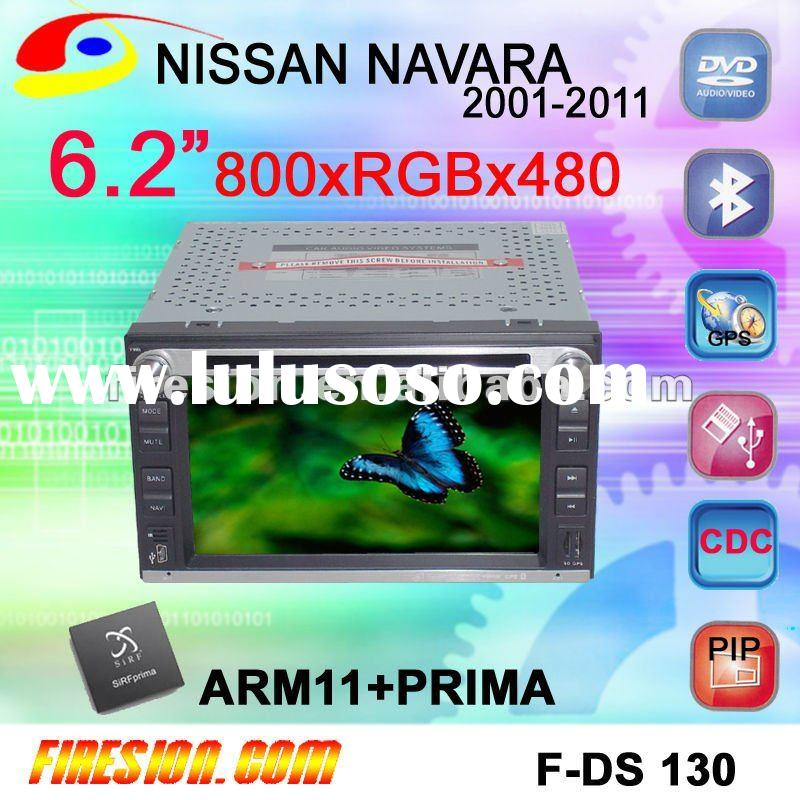 6.2 inch car DVD GPS player for NISSAN PATHFINDER 2001-2010