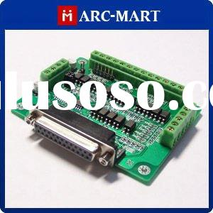 6 axis CNC Router Interface board for Step motor driver MACH3, KCAM4,EMC2 #UC116