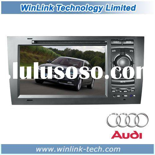 "7"" 2 din Car DVD Player With GPS For Audi A6 (1997-2004)"