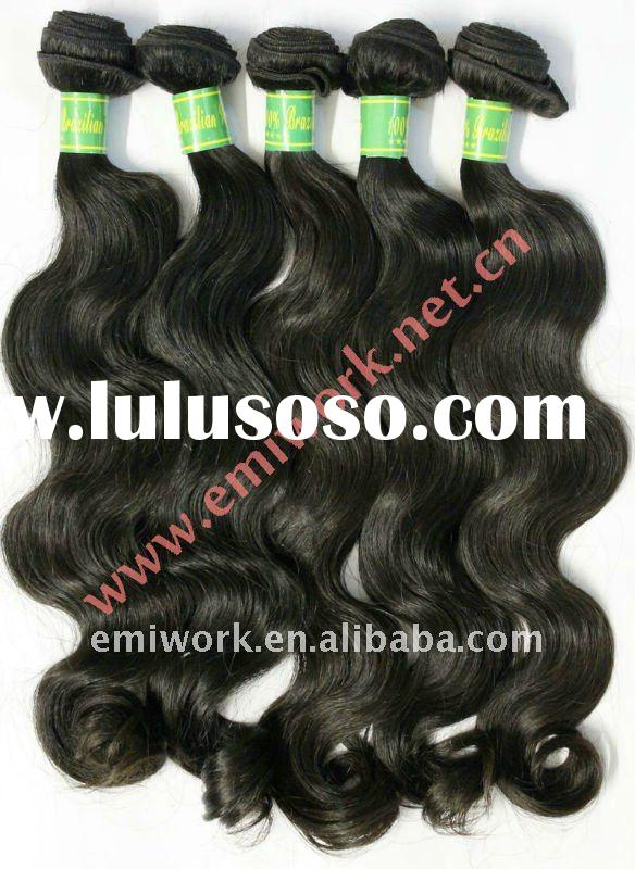 AAAA Quality brazilian hair weave ,body weave,natural colors