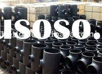 ASTM WPB A 234 ANSIB16.9 Seamless Carbon Steel Tee / Pipe Fitting(BW)