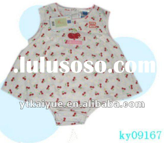 Baby summer clothes beautiful girl skirt