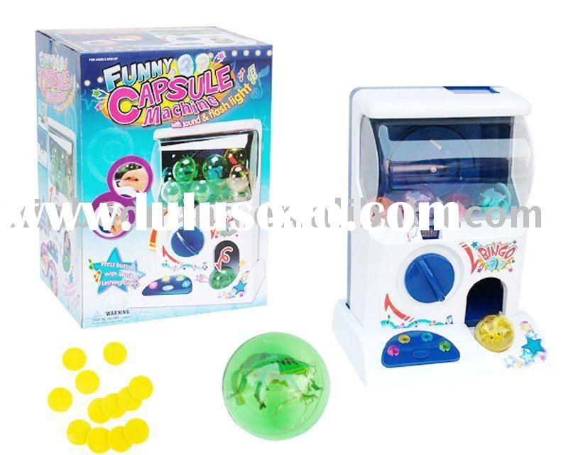 Battery Control Mini Capsule Toy Vending Machine game toys.