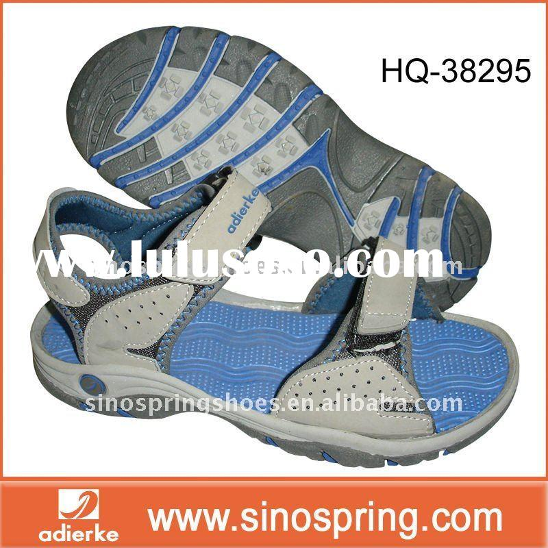 Casual man walking sandals