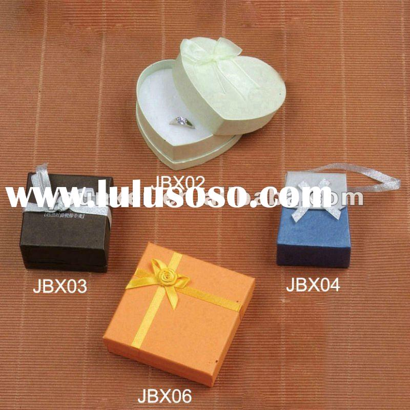 Cheap Paper Jewelry Boxes for finger ring,necklace,earring,gift box