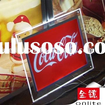Coca Cola Led Acrylic Light box