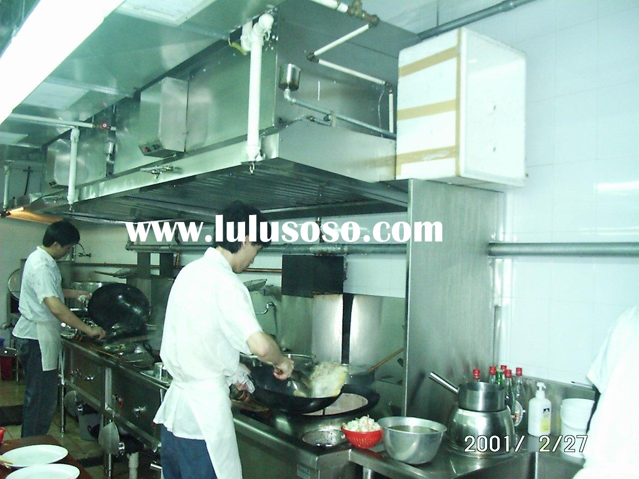 Kitchen Range Cooker Hoods With Esp Grease Filters For