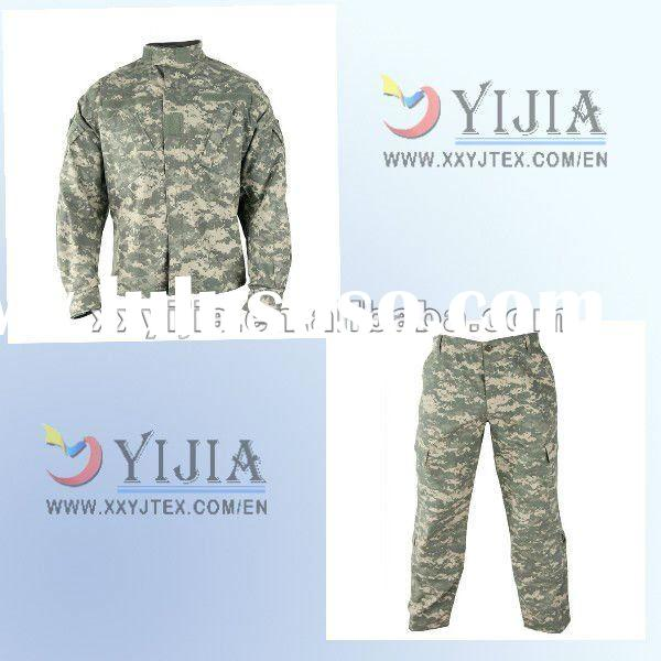 Cotton digital camouflage anti mosquito military uniform