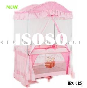 Curved standing mosquito net baby playpen---BEST SELLER