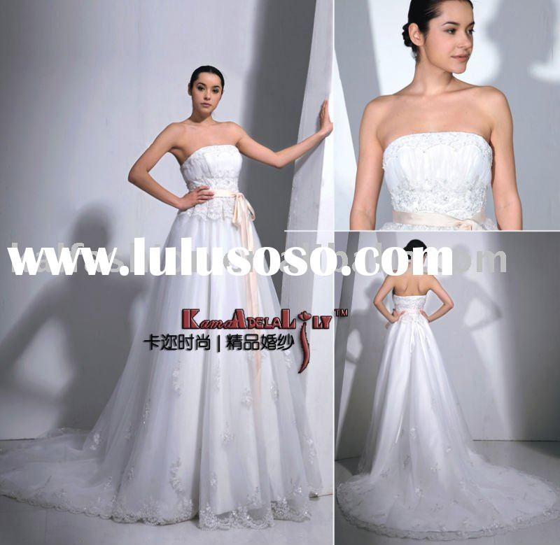 EB6000 Fashion high waist design wedding dress evening dress wedding gown of juniors