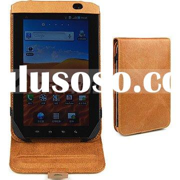 For Samsung Galaxy p1000 leather case, for p1000 case