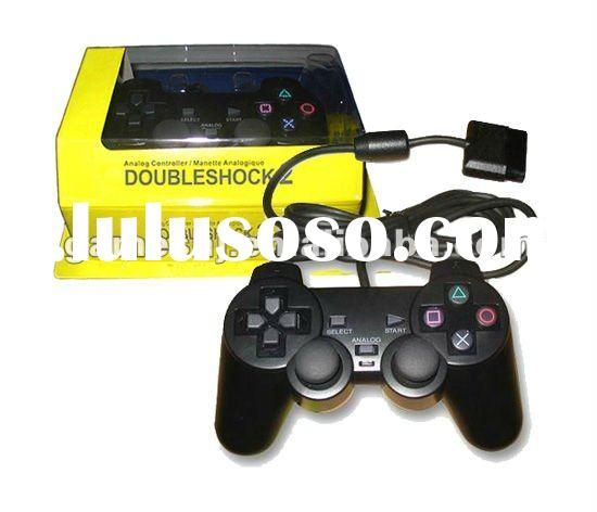 GP-200 For PS2 twin shock game controller with double vibration gamepad-12 Colors ,Factory Selling P