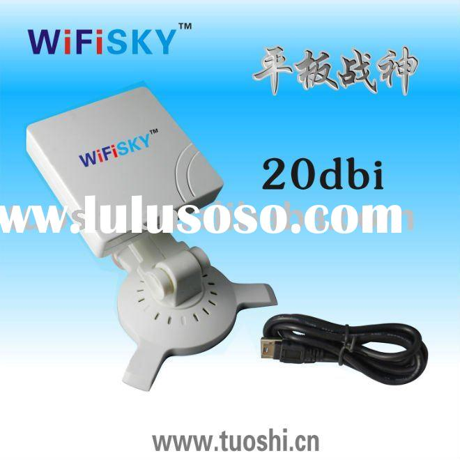 High power 20 dbi antenna USB Wifi Card WIFISHKY 960000G