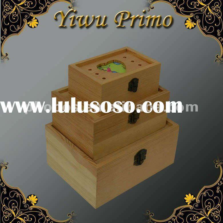 Hot Sale Wood Wedding Card Boxes