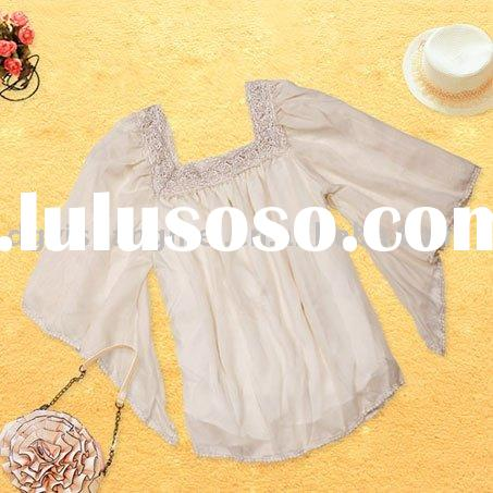 Ladies' Fashion Chiffon Tops