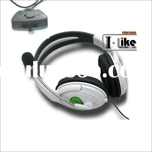 Live Headset Headphone With Microphone for XBOX 360