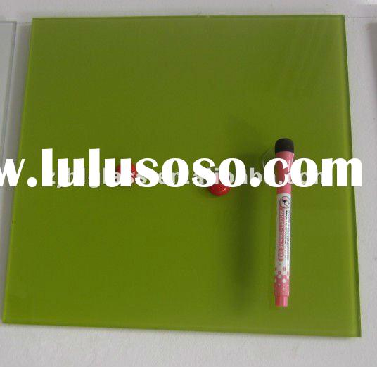 Magnetic Glass Memo Board For Office