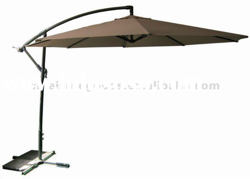 Outdoor Patio Metal Cantilever Garden Umbrella Parasol