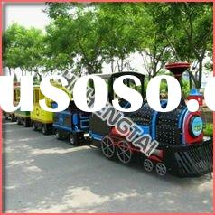 Outdoor theme park electric amusement trackless mall train