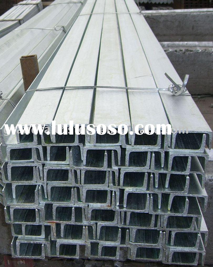 PRIME HOT ROLLED STEEL CHANNEL SIZE