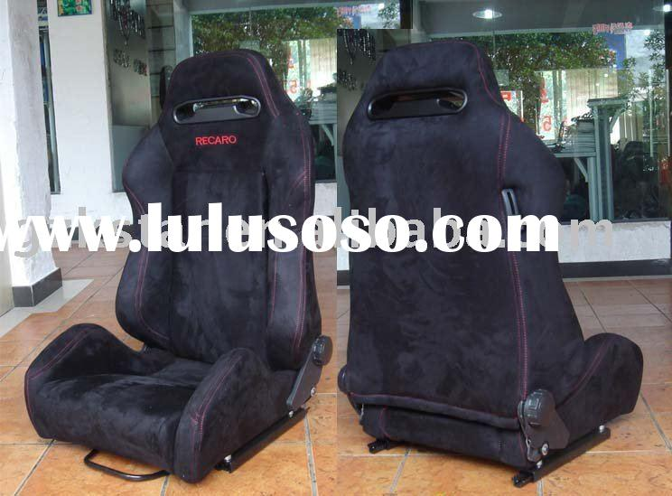 Racing Car seats: SPD black red line