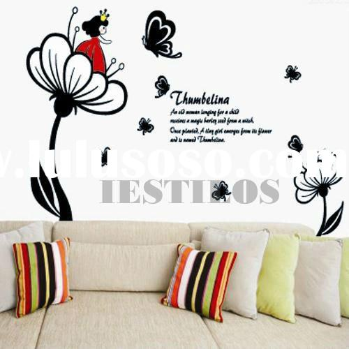 Removable vinyl wall decals stickers kids