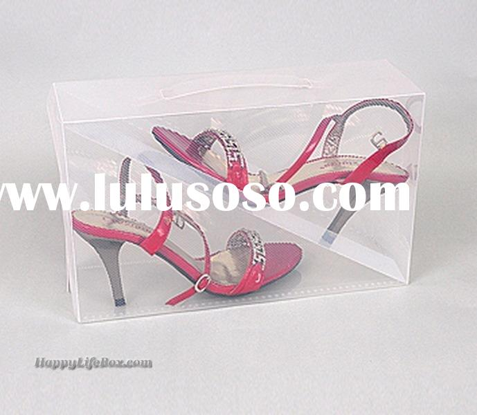 Sell Clear Shoe Boxes ,shoe organizer,plastic collapsible shoe storage