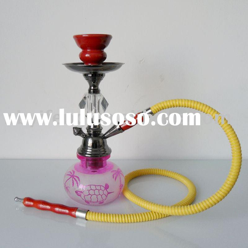 1-Hose Crysyal Cute Pink Mini Glass Smoking Pipes For Sale