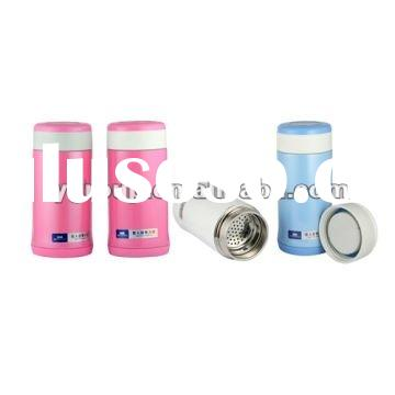 Stainless Steel Vacuum Flask Thermos Insulated Mug Tea Cup Water Bottle,drink cup mug w/ tea filter