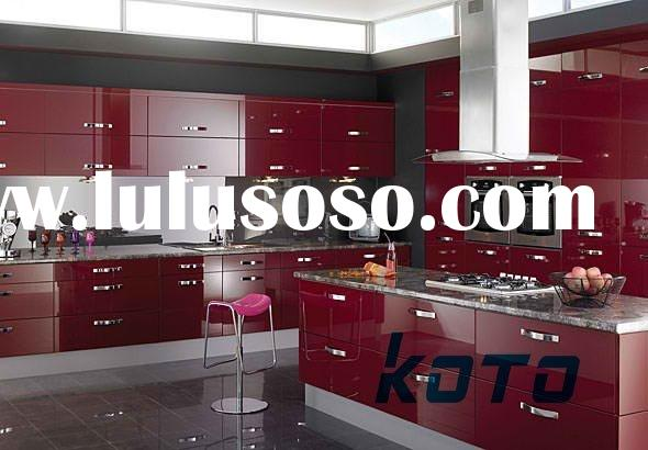 Supply 2012 Modern Kitchen Cabinet ( KOTO high gloss Kitchen Cabinet --- High Quality with Warranty