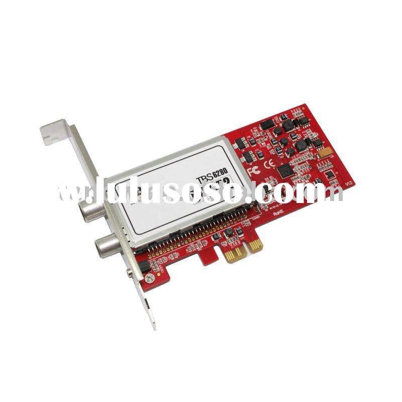 TBS 6280 PCI-E DVB-T2 TV Dual Tuner Card
