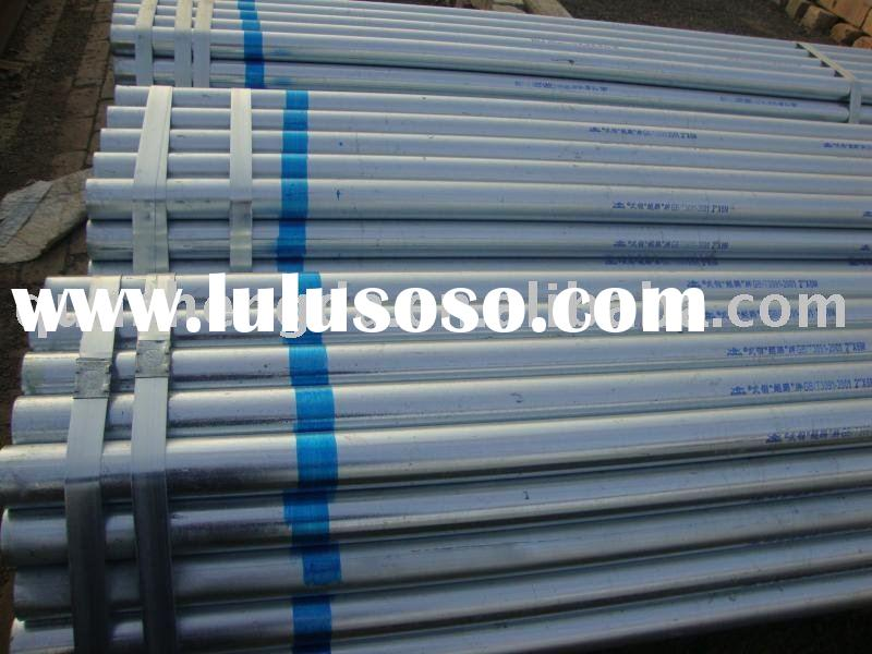 Thick Galvanized Steel Tube