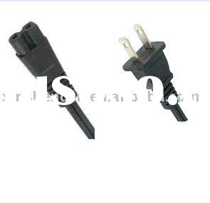 UL approval power cord for laptop and radio