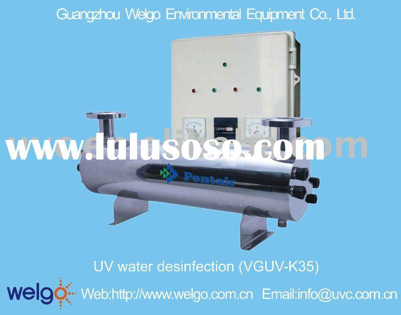 UV water desinfection