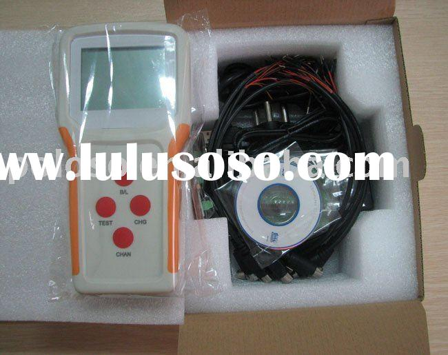 Universal laptop battery tester with battery identification function