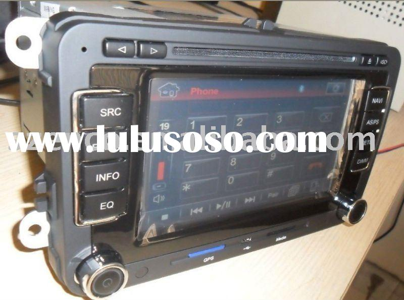 VW POLO radio player system with car dvd,gps navigation,rds audio system