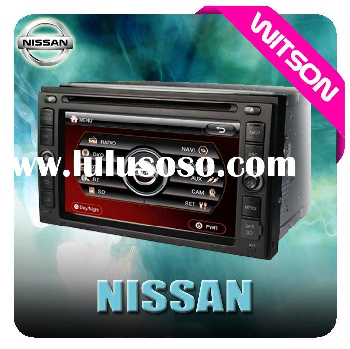 WITSON Special Car DVD Player For NISSAN QASHQAI with Built-in GPS CAR DVD GPS