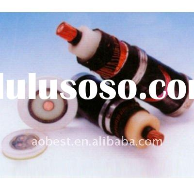 XLPE insulated HIGH VOLTAGE copper power cable