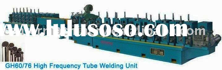 automatic high frequency carbon steel pipe maker