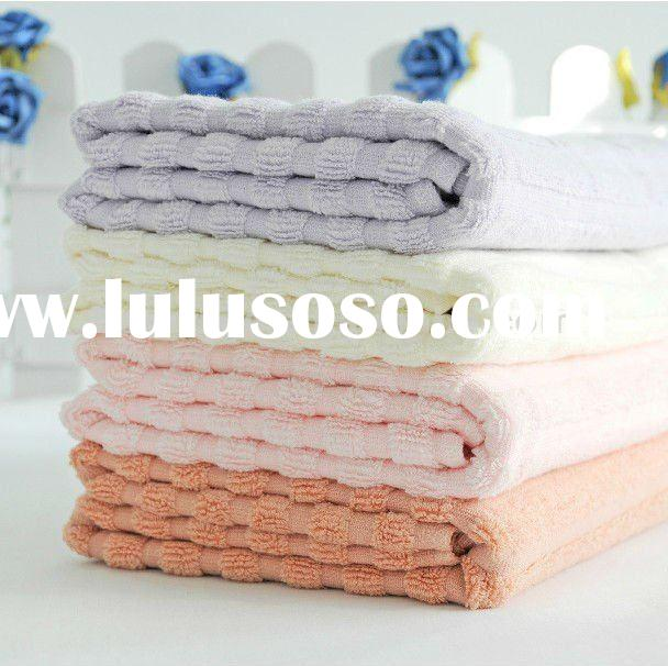 bar-type bamboo and cotton terry towel