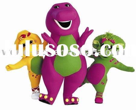 barney and friends mascot costumes