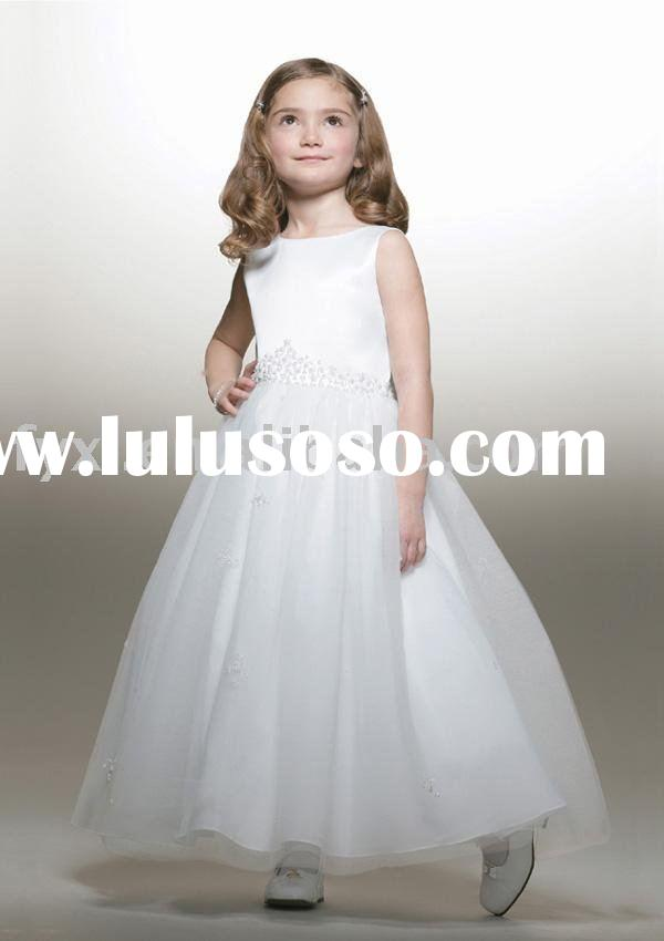 cheap flower girl dress FG0084