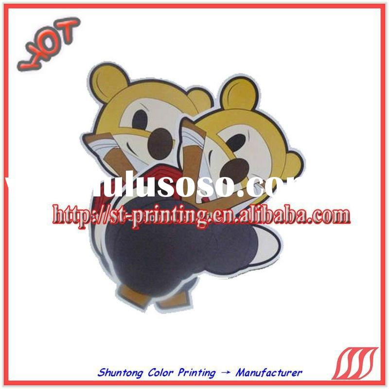 custom adhesive cartoon sticker/ sticker cartoon for kids